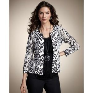 Burnout Ikat Tiana Cardigan by Chico's